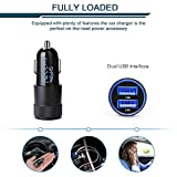 Car Charger, Ailkin 3.4a Fast Charge Dual Port