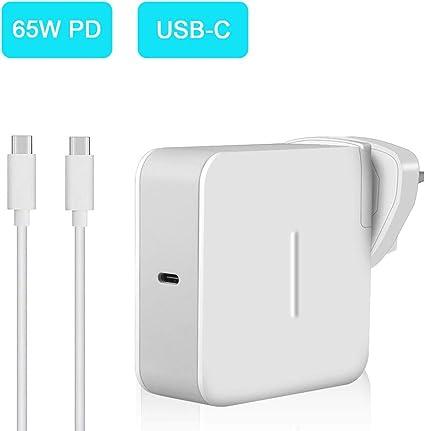 65W USB Type C Power Adapter, Aifulo Universal USB C: Amazon