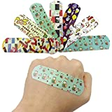Minibaby Cute Lovely Cartoon Band Aid for Your Kids Protection 100Pcs Waterproof Bandages Wound Dressings Hemostasis Adhesive First Aid Kit