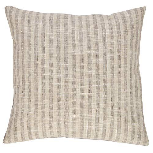 Stone & Beam Rustic Stripe Throw Pillow, 17