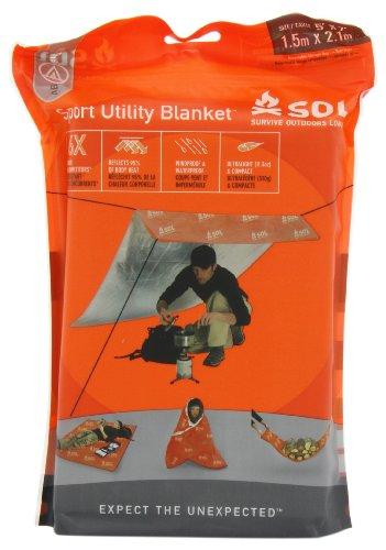 S.O.L. Survive Outdoors Longer Sport Utility Blanket