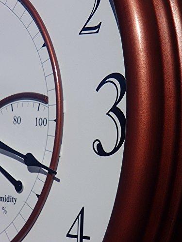 <span style=''>[해외]온도와 습도가있는 대형 야외 벽시계 24 개 - 구리/24  Large Outdoo..</span>
