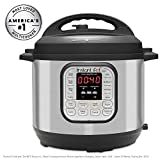 Instant Pot IP-DUO80 Pressure Cooker, 8-QT, Stainless Steel/Black