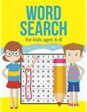 """Word Search For Kids Ages 6-8: A Large 8.5 x 11"""" Word Search Book For Clever Kids"""