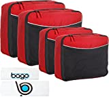 """We at Bago Travel Bags have analyzed over 2,100 POSITIVE REVIEWS that we've got. Here's just a few of the reasons customers love our Packing Cubes: """"I never thought I'd be using packing cubes. I tried this because of the reviews--and so glad ..."""