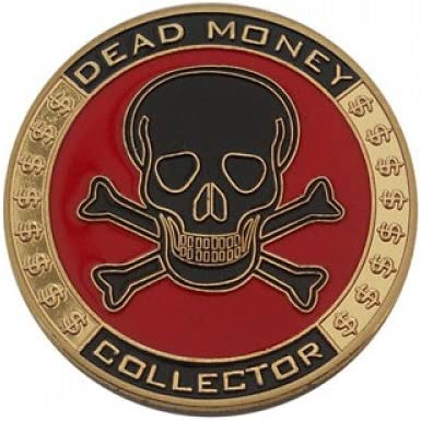 Poker Card Guard/Displayschutzfolie – Dead Money Collector