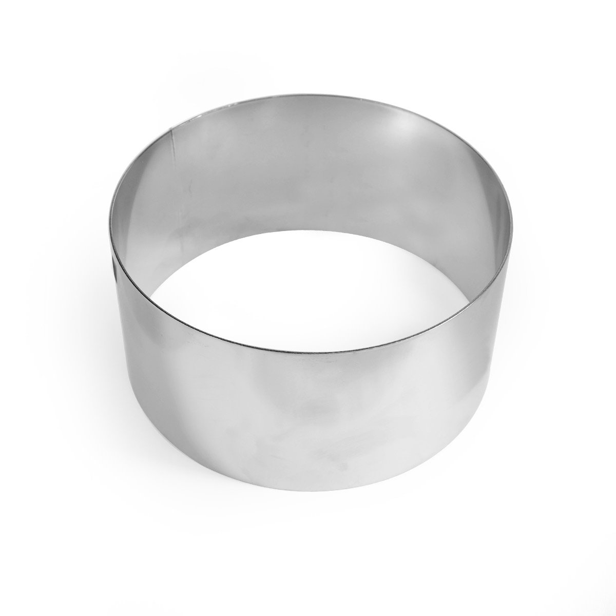 NY Cake Round Cake Ring 6 x 3 Stainless Steel