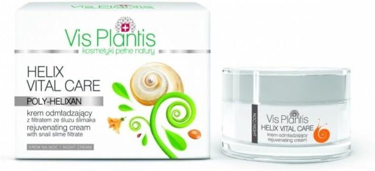 Vis plantis Helix Vital Care rejuve nating Noche Color Crema con el filtrat de caracol Moco, 50 ml