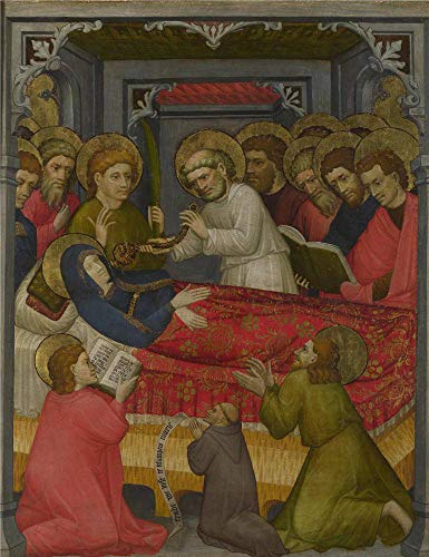 (Oil Painting 'Tyrolese The Dormition Of The Virgin ' Printing On Perfect Effect Canvas , 10 X 13 Inch / 25 X 33 Cm ,the Best Nursery Decor And Home Decor And Gifts Is This Reproductions Art Decorative Canvas Prints)
