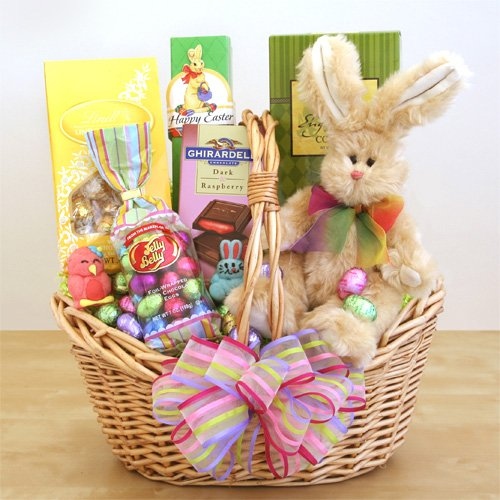 Easter Extravaganza -Easter Gift Basket of Ghirardelli, Lind