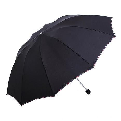 LybCvad paraguas Negocios dobles hombres grandes y dos mujeres