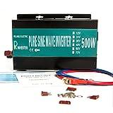 Reliable RBP-500S-LED 500w Pure Sine Wave Solar Power Inverter 24v 120v 60hz With LED Display (Black)