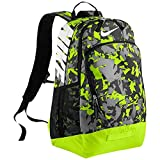 Nike Max Air Team Training Large Graphic Backpack Anthracite/Volt/White