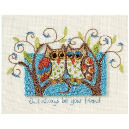 Dimensions Needlecrafts Punch Needle, Owl Always Be Your Friend