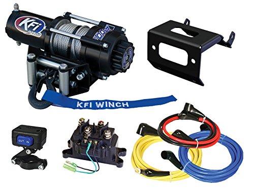 Honda Rubicon Winch - KFI Combo Kit - A2500R2 Winch & Winch Mount - 2015-2018 Honda Foreman Rubicon TRX500 FM5 / FM6 / FM7