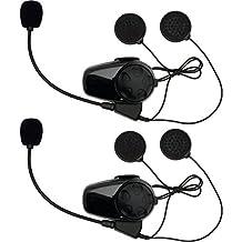 Sena Technologies SMH10 Bluetooth Headset/Intercom for Bell Mag-9 Helmets - Dual/Black by Sena Technologies
