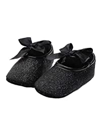 Susenstone Glitter Baby Shoes Sneaker Anti-slip Soft Sole Toddler (11, Gold)
