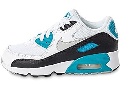 Nike Air Max 90 Mesh PS Schuhe weiß grau blau