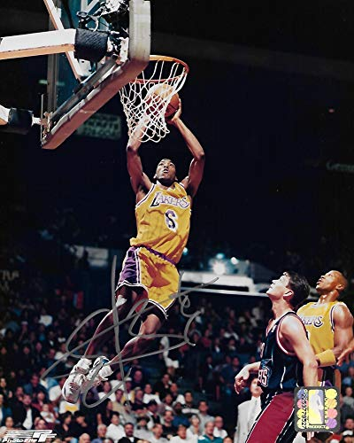 Eddie Jones Los Angeles Lakers, signed, autographed, Basketball 8X10 Photo, Coa will be included