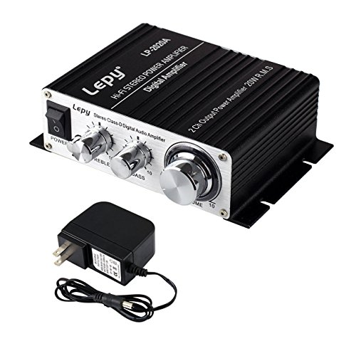 Lepy LP-2020A Power Amplifier Stereo HiFi Digital Audio Car Auto Motor Amp by Lepy