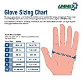AMMEX Gloveworks HD Industrial Black Nitrile Gloves with Diamond Texture Grip, 6 mil, Size Medium, Latex Free, Powder Free, Disposable