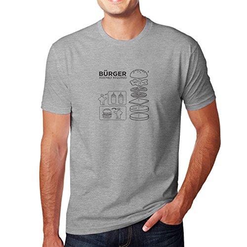 Planet Nerd - Bürger Assembly required - Herren T-Shirt, Größe L, grau meliert