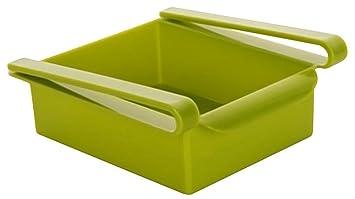 Kühlschrank Klemmschublade : Kentop klemm schublade aufbewahrungsbox kühlschrankbox schublade