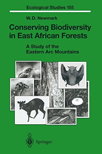 Conserving Biodiversity in East African Forests: A Study of the Eastern Arc Mountains (Ecological Studies) pdf