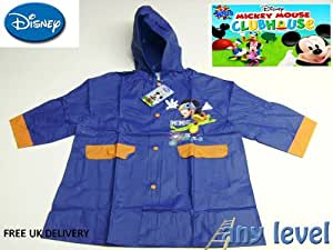 disney mickey mouse rain coat (size 2)dark blue (free delivery)