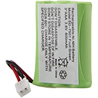 Creeracity New Rechargeable Replacement Cordless Phone Battery for Home Phone V-Tech 89-1323-00-00 8913230000 89-0099-00-00 8900990000 Model 27910, Compatible with Motorola SD-7500 SD-7501 SD-7502 SD-7561 SD-7581, Northwestern Bell 35818 35819 35820 35821 35828 35829 35858 35859, Radio Shack 23959 432105 ET2105 23-959 43-2105 ET-2105, Sanik 3SNAAA55HSJ1 3SNAAA60HSJ1 3SN-AAA55H-S-J1 3SN-AAA60H-S-J1, Empire CPH-464D (Package 4)