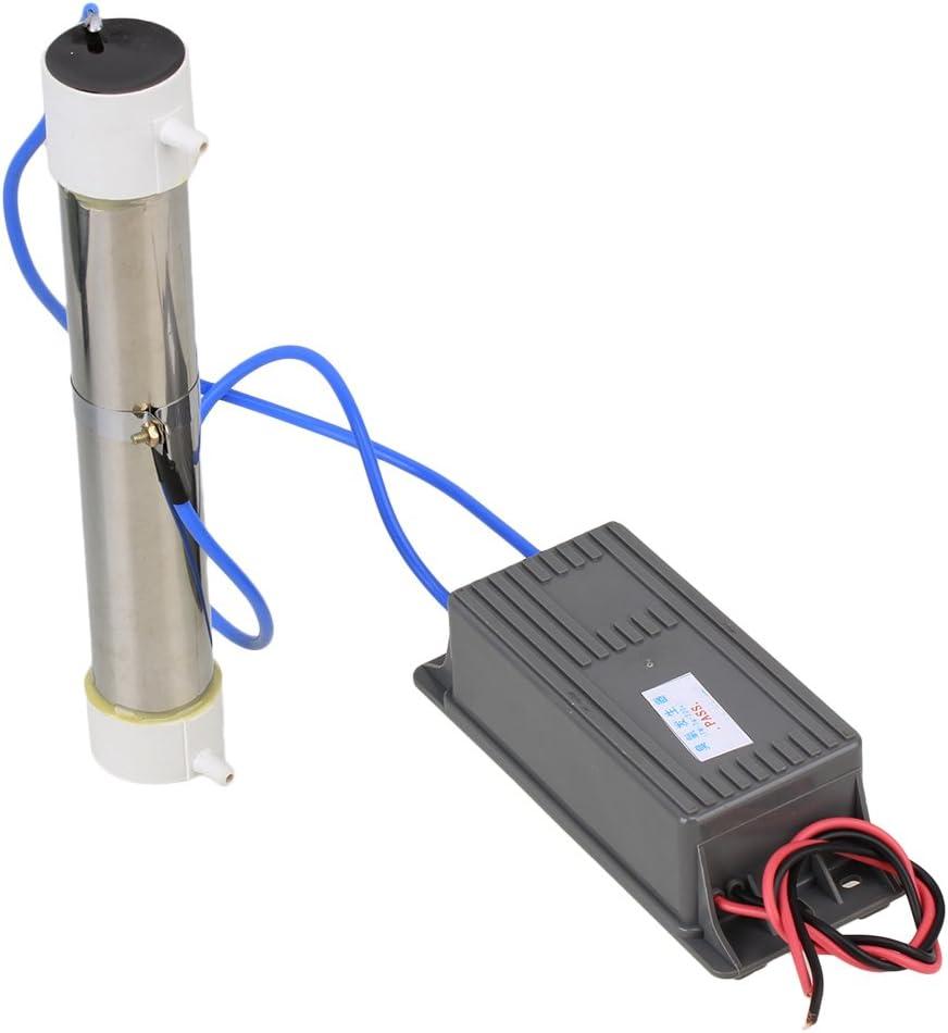 Tubo de Cuarzo de Ozono para Generador de Ozono Gris para Purificador de Purificador de Agua de Aire de Planta AC ...
