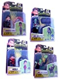 ParaNorman the Movie SDCC Comic Con Exclusive Figure Set of 4 Glow In The Dark