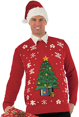 Forum Plus-Size Extra Large Classic Ugly Christmas Sweater, Multi, ()