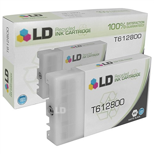 LD Products Remanufactured Ink Cartridge Replacement for Epson T6128 ( Black )