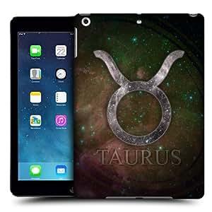 Head Case Designs Taurus Nebula Zodiac Symbols Protective Snap-on Hard Back Case Cover for Apple iPad Air