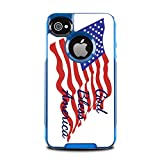 God Bless America Quote The American Flag Otterbox Commuter iPhone 4 VINYL STICKER DECAL WRAP SKIN