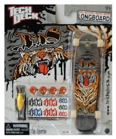 Tech Deck Exclusive Longboard 120mm BDS Tiger Skateboard Larger Than 96mm
