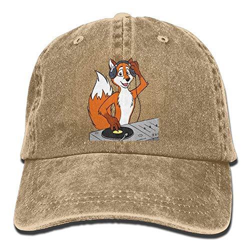 Gorras Yuerb Denim DJ Womens Fox Low Hat Adjustable béisbol Hat Baseball fPqwq6x