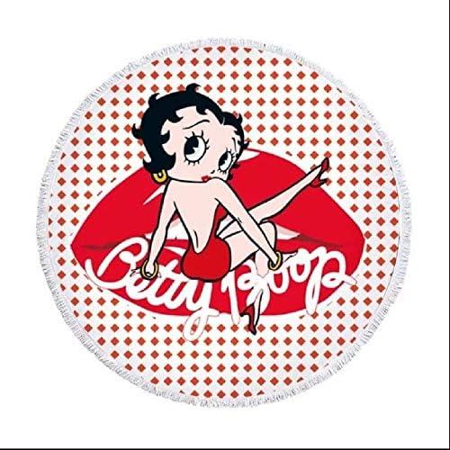 Betty Boop ベティちゃん ビーチタオル かわ 万能 海