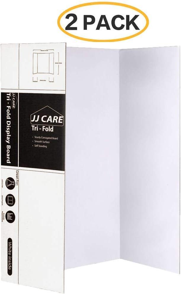 Corrugated Cardboard Darice Display Board White,36 x 48 inches,SELF-STANDING