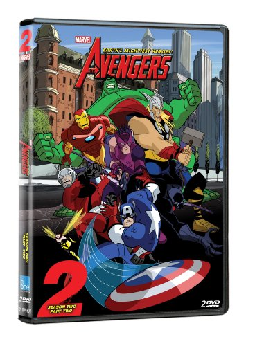 The Avengers: Earth's Mightiest Heroes (Season 2, Volume 2) DVD