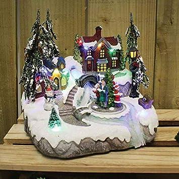 Bilder Weihnachten Animiert.Amazon De Homezone Animiert Weihnachten Carol Dorf Krippenspiel