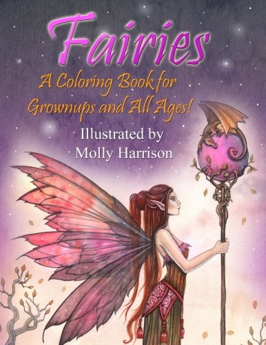 fairy coloring - 8