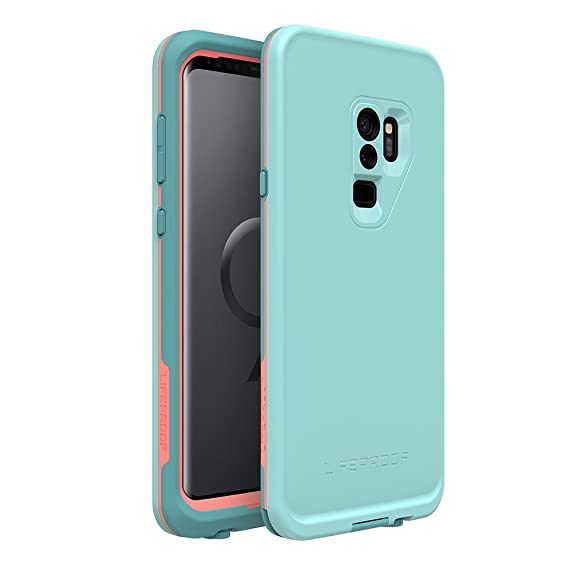 buy online de064 71421 Lifeproof FRĒ Series Waterproof Case for Samsung Galaxy S9+ - Retail  Packaging - Wipeout (Blue Tint/Fusion Coral/Mandalay Bay)
