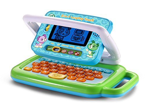 51vzi9BE7xL - LeapFrog 2-in-1 LeapTop Touch