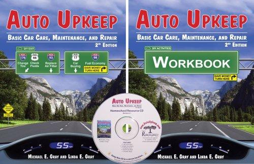 Auto Upkeep: Basic Car Care, Maintenance, and Repair (Homeschool Paperback Text Curriculum Kit)