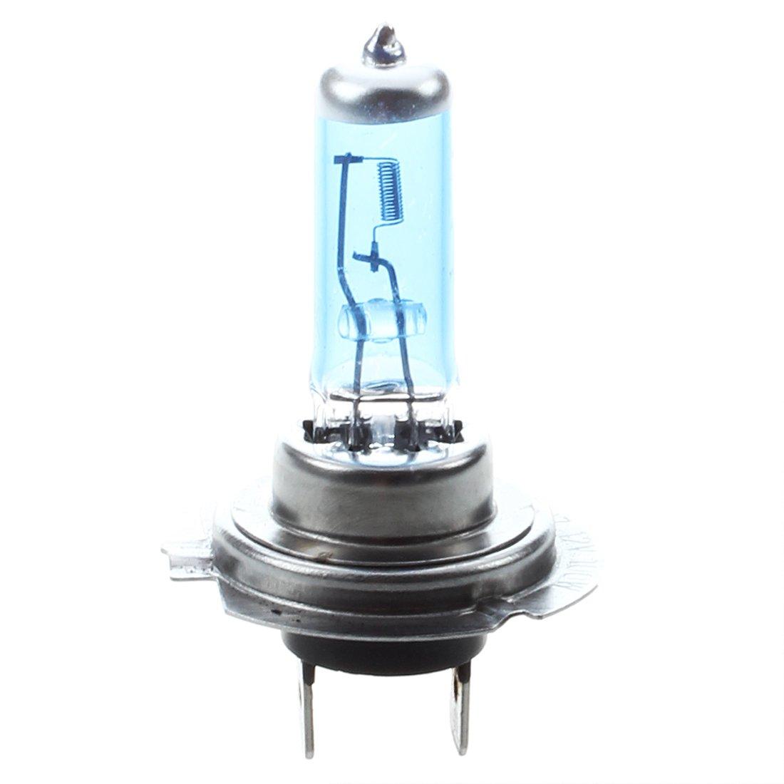 SODIAL(R) 2 LAMPADE LAMPADINE XENON ALOGENO H7 6000K 100 WATT BIANCO 026328