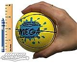 Wave Runner Water Skipping Ball Basketball Style 3.5'' Advance Water Bounce Fun (Yellow)