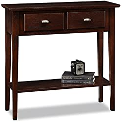 Leick Furniture Chocolate Hall Console/Sofa Table