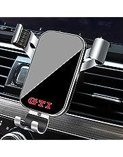 1 Stks Auto Styling Telefoon Houder Mount GPS Stand Voor VW GTI Polo Golf 5 7 Passat B5 B6 Scirocco Jetta Kever Tiguan Accessoires (Zilver Voor G-TI)